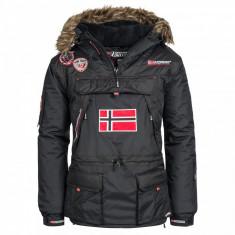 Geaca Barbati marca Geographical Norway Austral, Marime: L, Culoare: Negru