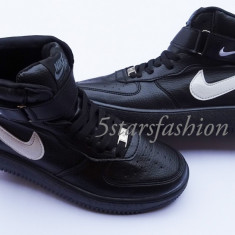 Adidasi Nike Air Force 1 - Adidasi barbati Nike, Marime: 41, 42, 43, 44, Culoare: Din imagine, Piele sintetica