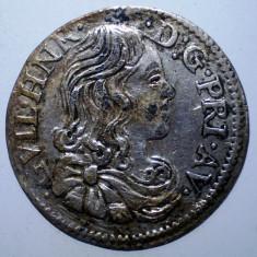 B.154 FRANTA LUDOVIC AL XIV-LEA MONEDA MEDIEVALA 1/12 ECU 1661 2, 08g FALS, Europa