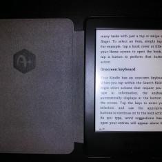 EBook reader Kindle Glare Free negru + husa de protectie