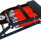Pompa aer dubla de picior cu manometru CC 100A