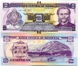 HONDURAS- 2 LEMPIRAS 2014- NEW- UNC!!