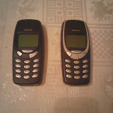 Telefon mobil Nokia 3310 cu incarcator, baterie noua L58 - Telefon Nokia, Gri, Nu se aplica, Neblocat, Single SIM, Fara procesor