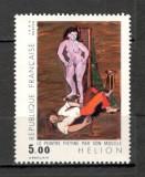 Franta.1984 Pictura moderna  SF.632.11, Nestampilat