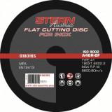 Disc abraziv pentru polizor unghiular Stern G18016S - 180x1, 6mm