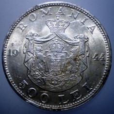 R.195 ROMANIA MIHAI I 500 LEI 1944 XF/AUNC ARGINT 12g - Moneda Romania