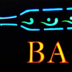 Panou luminos reclama Bar