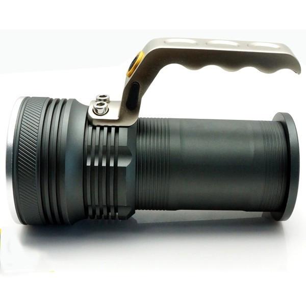 Lanterna cu zoom si Led profesionala 800 Lumeni foto mare