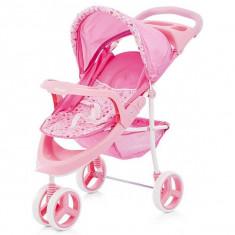 Carucior pentru papusi Chipolino Trixi pink - Vehicul