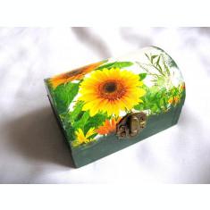 Cutie lemn decorata 28036