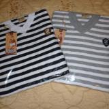 Bluza tip Zara man, bluza barbati-slim fit Primarara-Toamna, Marime: L, XL, Culoare: Gri, Negru, La baza gatului, Bumbac