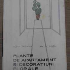 Plante De Apartament Si Decoratiuni Florale - Eugen Sadofsky Amelia Militiu, 390487 - Carti Agronomie