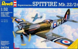 + Macheta avion 1/32 Revell 04704 - Spitfire Mk. 22/24 +, 1:32