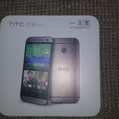 Telefon mobil HTC One Mini 2 (M8 mini) 4G, 16 GB, Grey, Gri, Neblocat