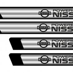 Set protectii praguri CROM - Nissan - Protectii moto