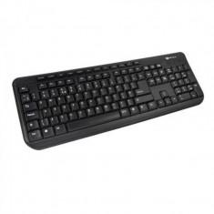 Tastatura Serioux 9400, USB, Negru, SRXK-9400ROUSB - Livrare Posta Romana, Standard, Cu fir