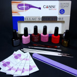 Kit oja permanenta Shellac Canni
