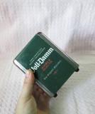 Cutie tabla cu reclama bere Voll-Damm, cutie cu reclama bere - deosebita