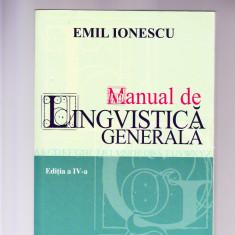 MANUAL DE LINGVISTICA GENERALA-EDITIA 4 - Dictionar Altele