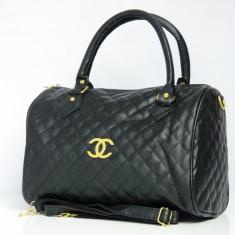 Geanta / Poseta dama de umar sau mana Chanel + Cadou Surpriza - Geanta Dama Chanel, Culoare: Din imagine, Marime: One size, Geanta de umar, Piele