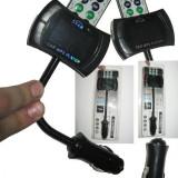 Modulator FM flexibil cu telecomanda 8in1