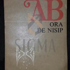 ANA BLANDIANA (DEDICATIE-AUTOGRAF CATRE CORNELIU BABA) - ORA DE NISIP (POEZII)