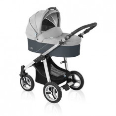Baby Design Lupo 07 Gray 2016 - Carucior Multifunctional 2 In 1 - Carucior copii 2 in 1
