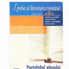 LIMBA SI LITERATURA ROMANA -CLASA 9 - Manual scolar Altele, Art