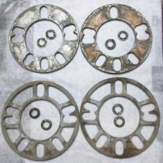 Distantier 5mm aluminiu pt roti/jante aliaj evazat/largit/micsorat et - Punte auto fata, Audi