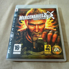 Joc Mercenaries 2 World in Flames, PS3, original, alte sute de jocuri! - Jocuri PS3 Thq, Shooting, 18+, Single player