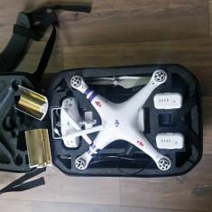 DJI Phantom 3 Advanced + 2x Akku + Range Extender + Backpack - Drona