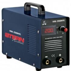 Aparat de sudura tip invertor cu display Stern WM-200INVL - Invertor sudura