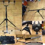 Rod Pod, Prowess Tracker, 4 posturi, 4 senzori Sert, 4 swingers K-Krap Drake