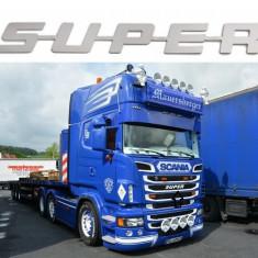 Ornament Inox Super pentru Scania (compatibil cu toate modelele) - Camion
