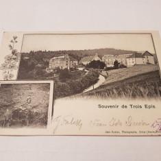 CP Austria 1904 orbey / alsacia, Circulata, Printata