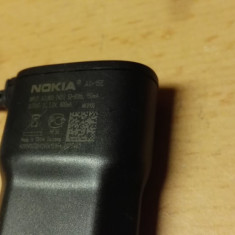 Alimentator Nokia AC-15E 5V 800mA - Incarcator telefon Nokia, De priza