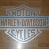 Decoratiune de perete din metal Haley Davidson