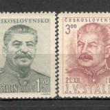 Cehoslovacia.1949 70 ani nastere I.V.Stalin CC.204, Nestampilat