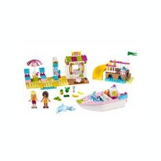 Andrea si Stephanie in vacanta la mare - LEGO Juniors