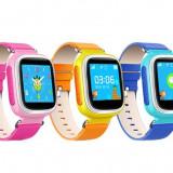 Ceas copii cu telefon si microfon spion Q60 Q80 fara GPS - smart watch, Alte materiale, watchOS, Apple Watch