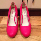 Pantofi dama din PIELE marca S'OLIVER