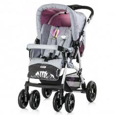 Carucior Chipolino Dakota pink 2016 - Carucior copii Landou