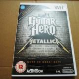 Guitar Hero Metallica, pentru Wii, original, alte sute de jocuri