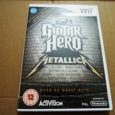 Guitar Hero Metallica, pentru Wii, original, alte sute de jocuri - Jocuri WII Ubisoft, Simulatoare, 3+, Single player
