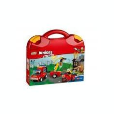 Valiza Patrula de pompieri - LEGO Juniors