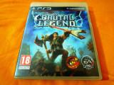 Joc Brutal Legend, PS3, original, alte sute de jocuri!, Simulatoare, 12+, Single player, Sony