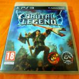 Joc Brutal Legend, PS3, original, alte sute de jocuri!
