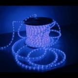 Furtun luminos 100m 2300 leduri rosii si albastre - Banda LED