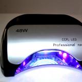 Lampa UV +LED 48 W CCFL - Lampa uv unghii