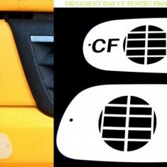 Ornament Inox Proiectoare Ceata Daf CF (cu sistem de prindere) - Camion